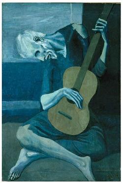 El Viejo Guitarrista Ciego Ecured