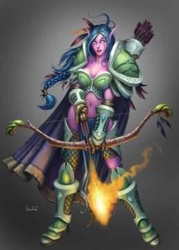 Elfo Nocturno World Of Warcraft Ecured