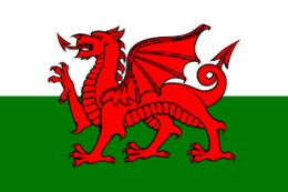 Bandera de Gales - EcuRed