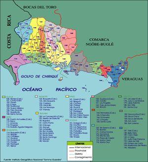 Provincia de Chiriquí (Panamá) - EcuRed