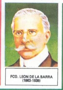 Francisco León De La Barra Ecured