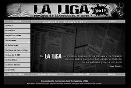 Presentan número 23 de la revista de Literatura y Arte La Liga
