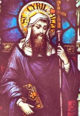 Resultado de imagen de Cirilo de Alejandría.