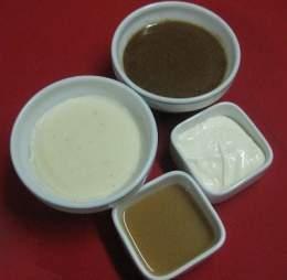 Tipos de fondos y salsas