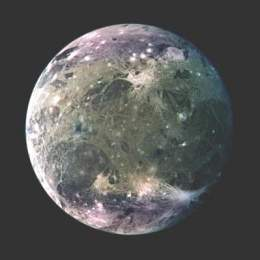 Resultado de imagen para satelites de jupiter ganimedes