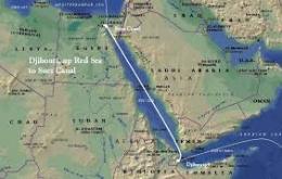 Canal De Suez Mapa Fisico Africa.Canal De Suez Ecured