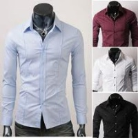 Las camisas se pueden diferenciar por  tela (algodón 13f6560900ac4