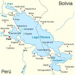 Lago Titicaca Boliviaperú Ecured