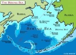 mar de bering mapa Mar de Bering   EcuRed mar de bering mapa